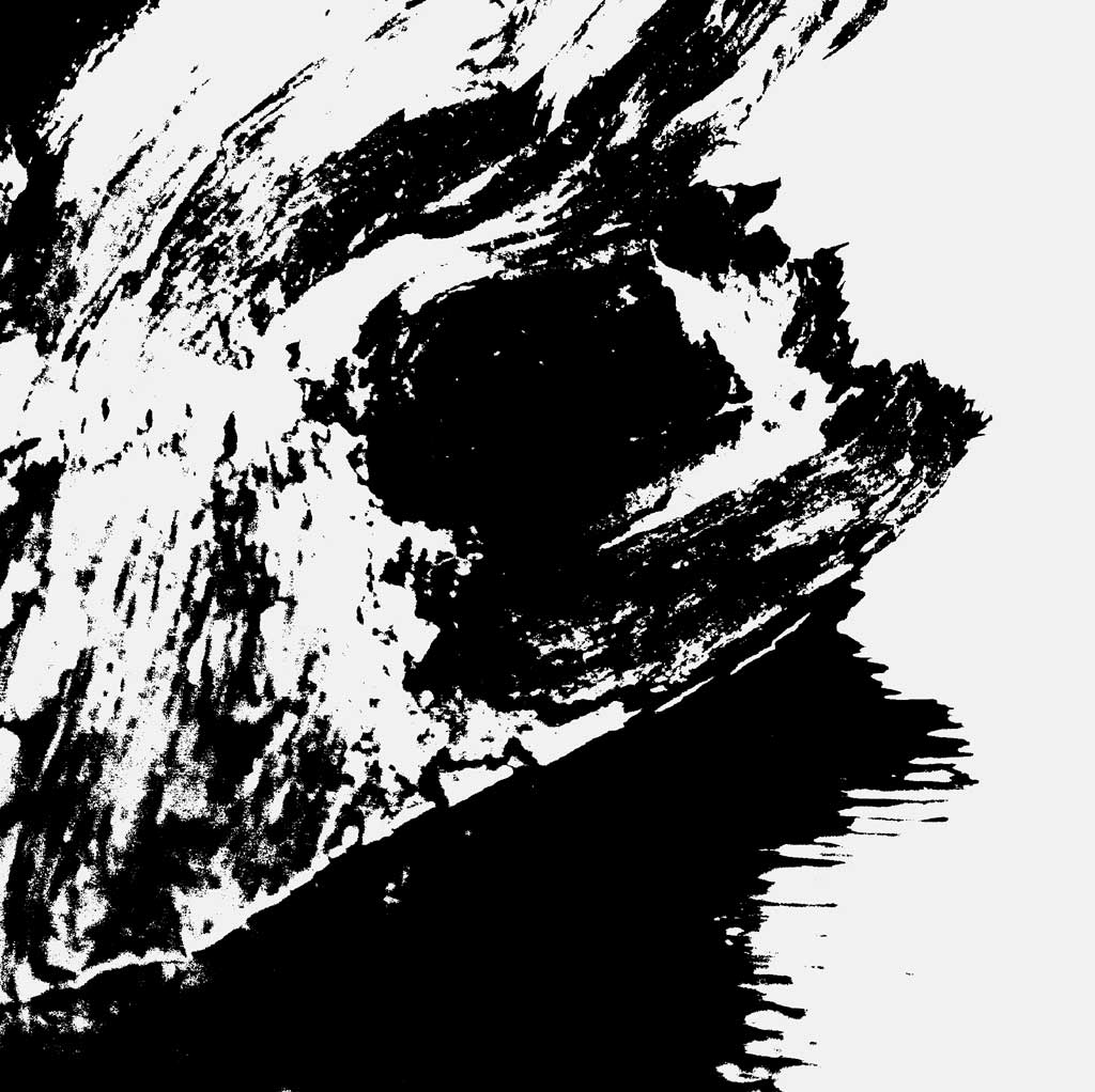 Black White Abstract Art