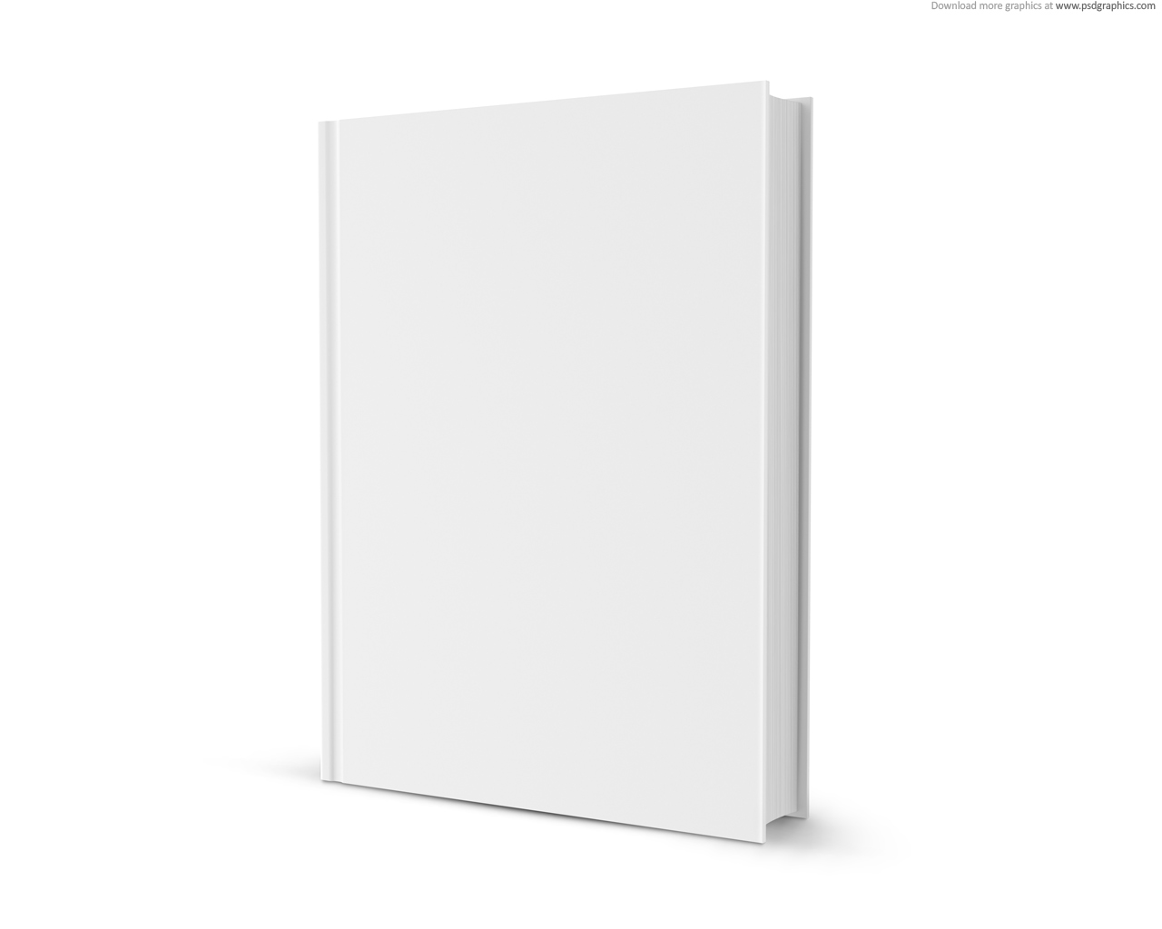 Blank Book Cover Template Free ~ Free blank book cover template psd images