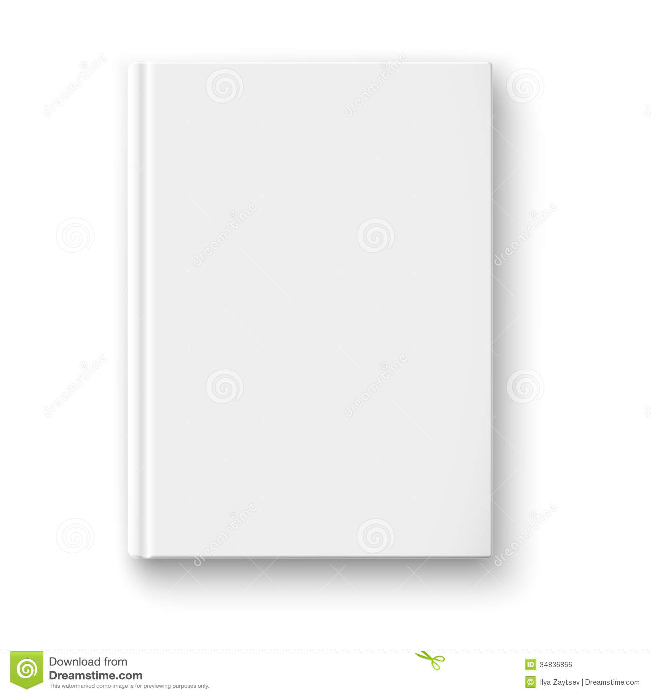 cookbook covers template - 14 free blank book cover template psd images blank book