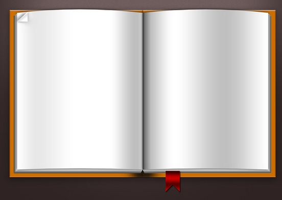Open Book Cover Template : Free blank book cover template psd images