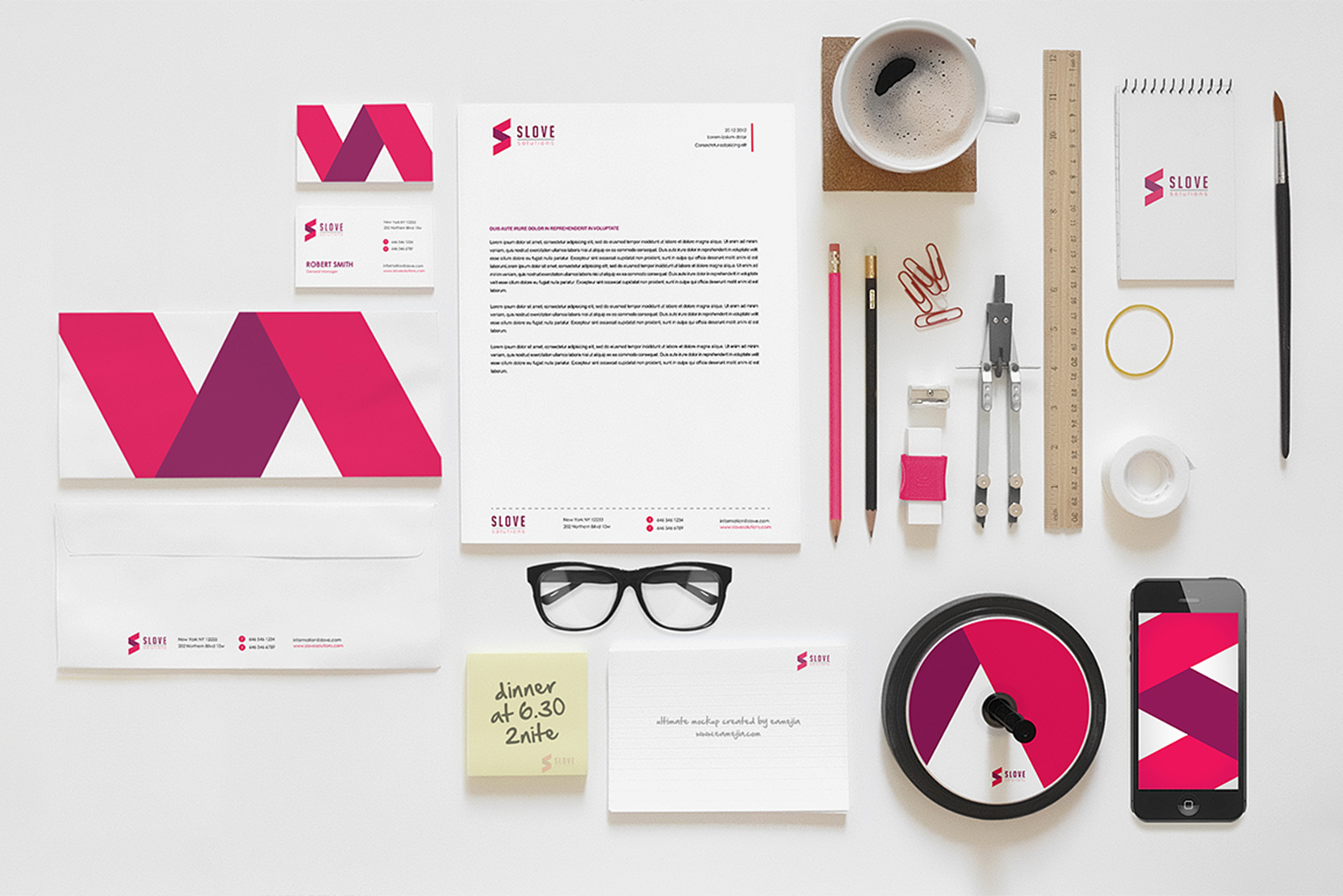 Branding Mock Up Designs