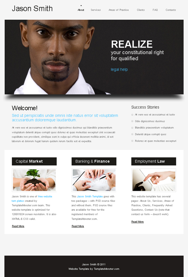 Business Website Templates Free Download