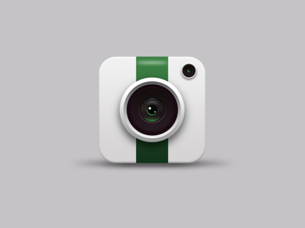 Camera Design Material Icon
