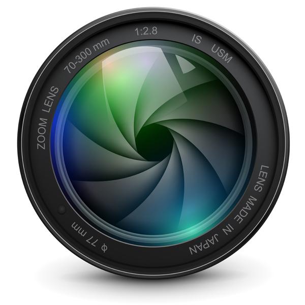 12 Camera Lens Shutter Vector Images