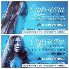Capricorn Party Flyer Club