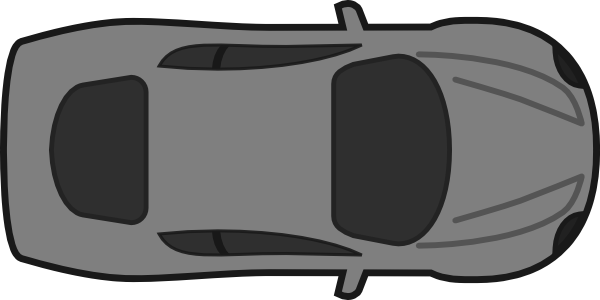 Car Top View Clip Art
