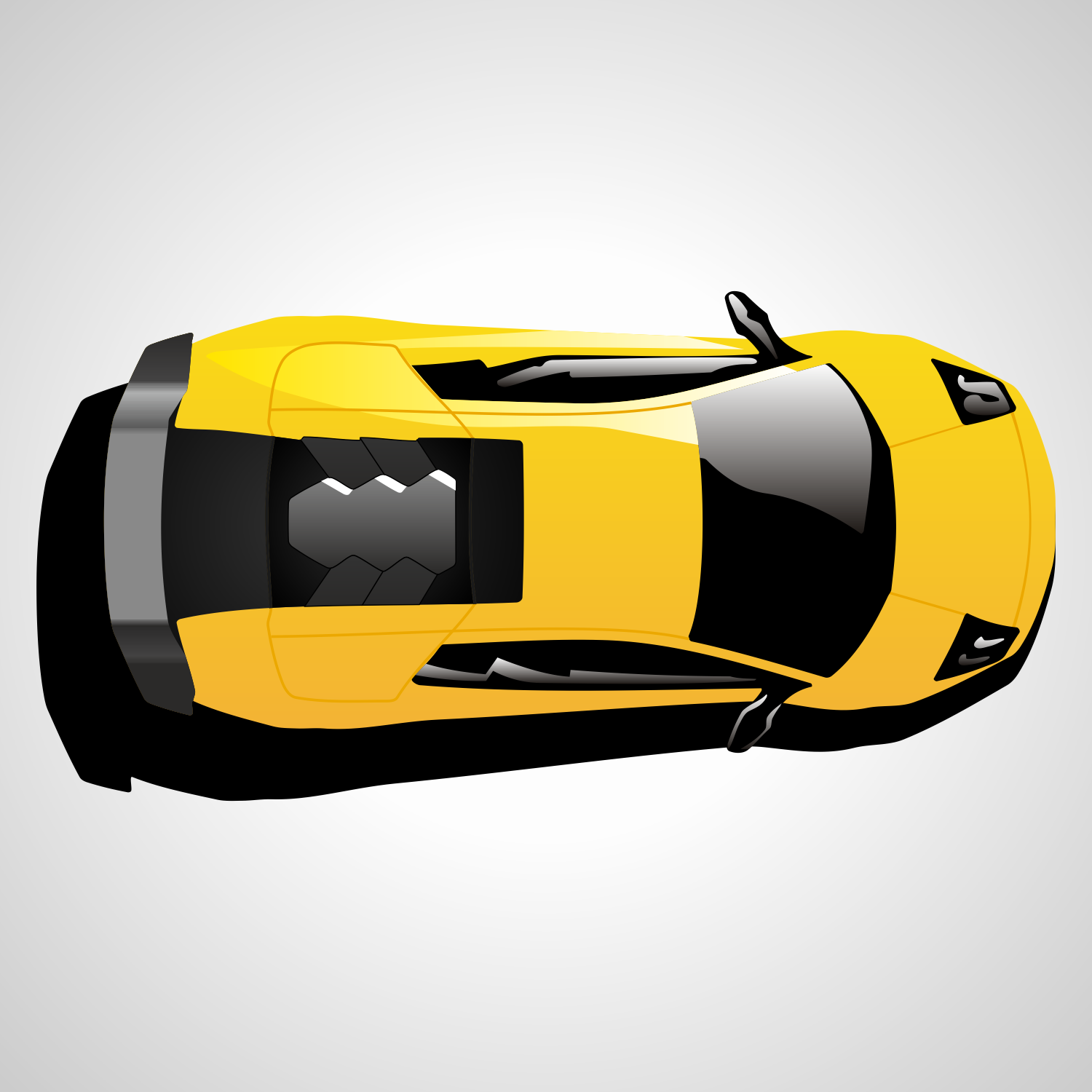 8 Car Top View Vector Images