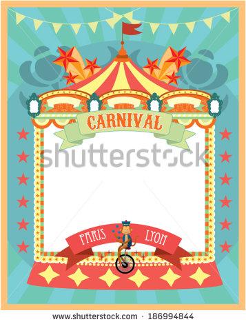 Carnival Border Templates