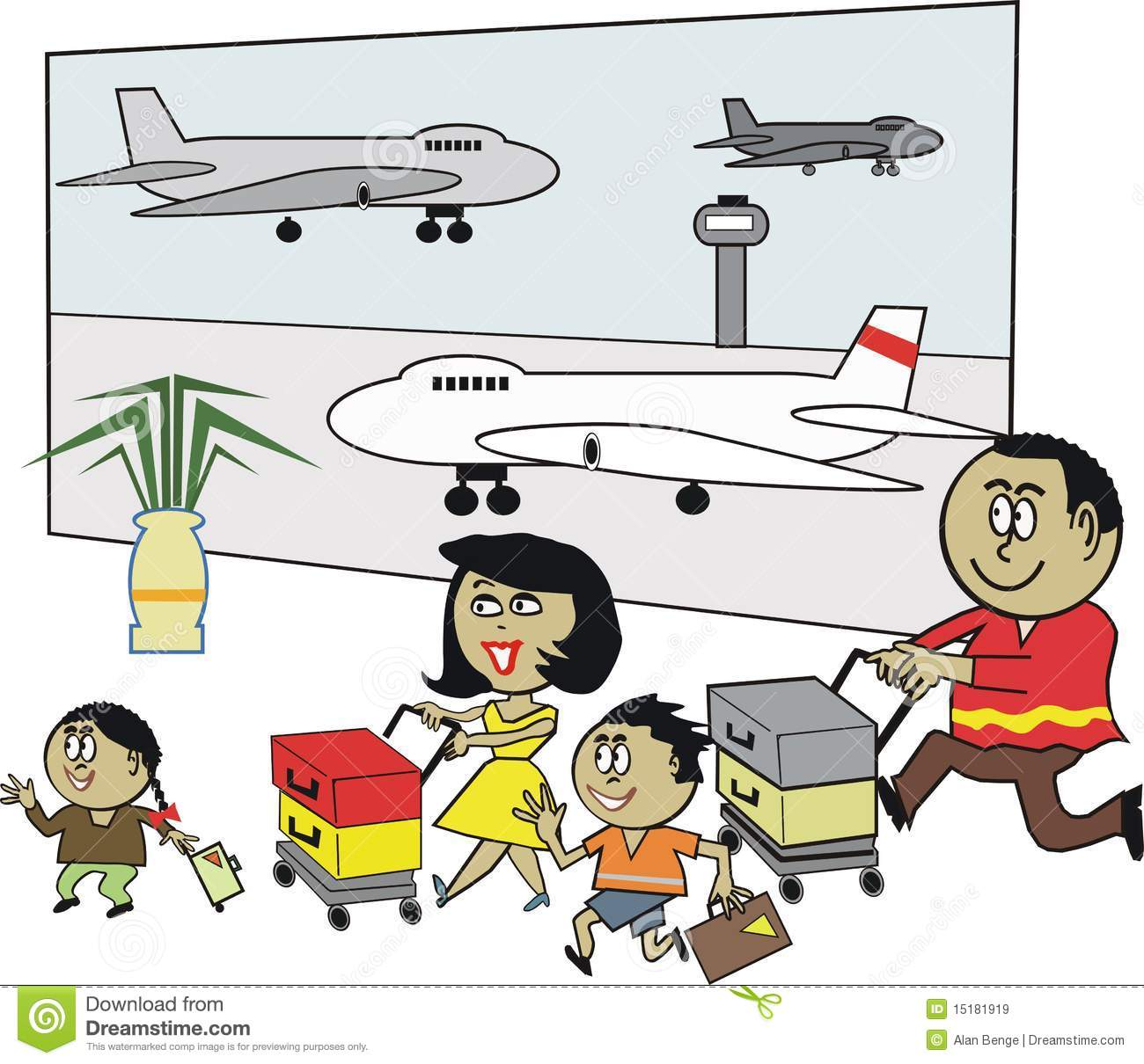 14 Airport Fueling Areal Cartoon Icon Images