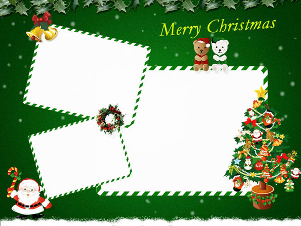 11 Christmas Card Templates Free Download Images