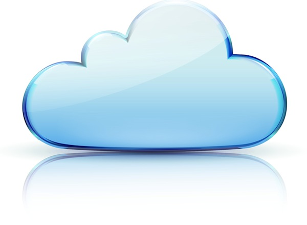 6 White Cloud Icon Images