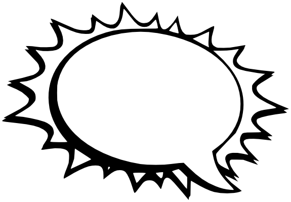 Comic Speech Bubble Transparent
