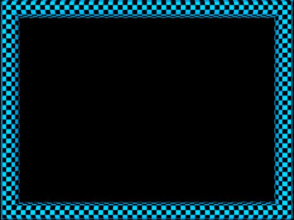 Cool Border Designs Blue