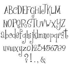 Creative Hand Lettering Styles