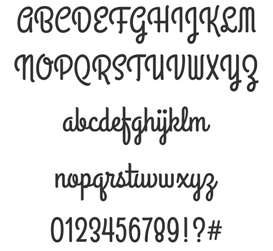 Creative Lettering Fonts
