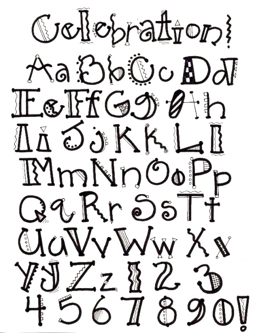 9 Creative Font Styles Images - Creative Typography Design ...  Creative Lettering Styles