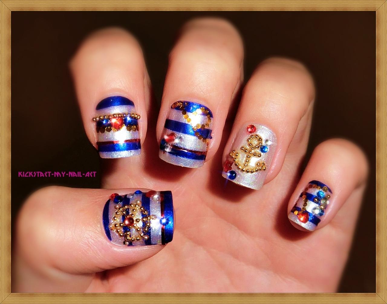 Contemporary Nail Polish Designs Tumblr Images
