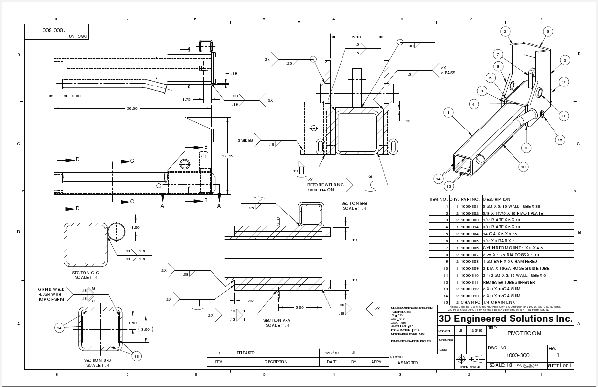 Drawing Drafting and Design