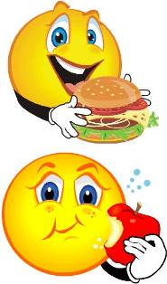Eating Smiley Face Clip Art Free