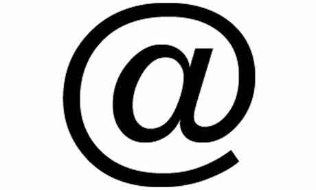 Email at Sign Symbol
