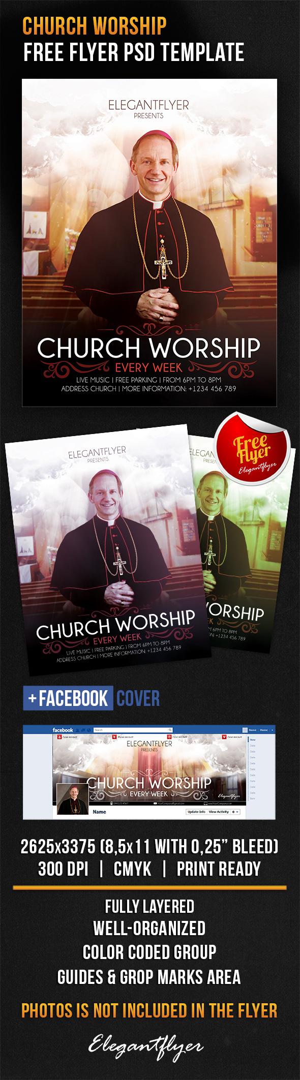 Facebook Free Church Flyer Templates