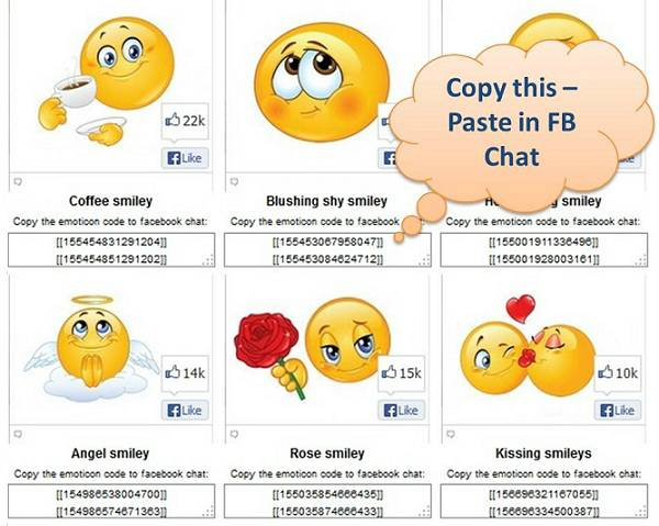10 Secret Facebook Emoticons Images