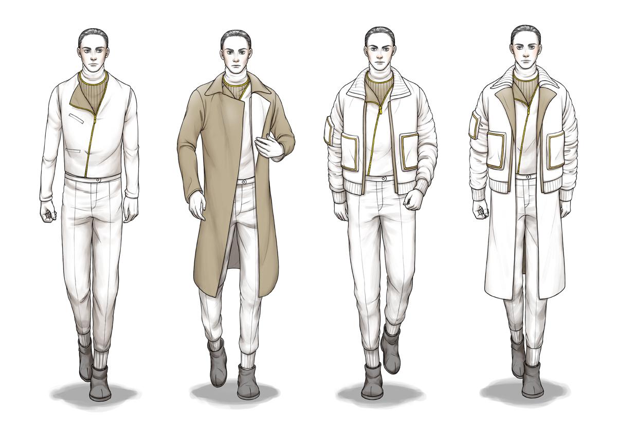 Fashion Design Template For Illustrator
