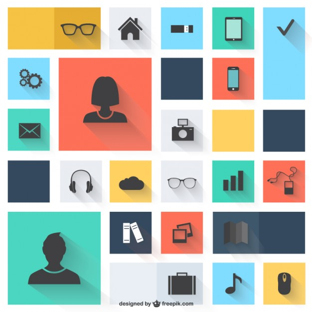 11 Vector Person Icon Flat Images