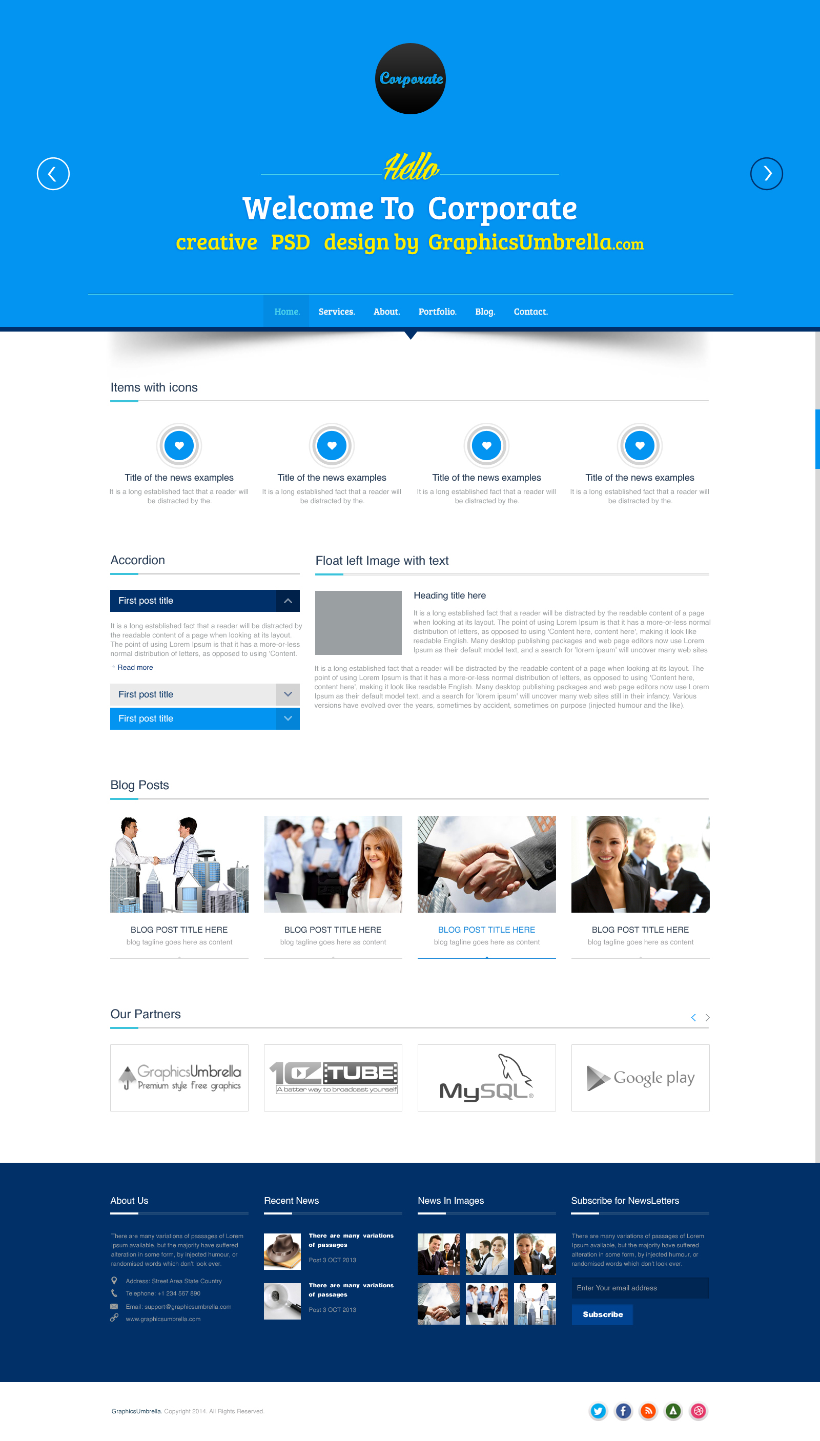 Business website templates militaryalicious business website templates flashek Image collections