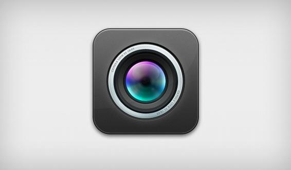Free Camera Lens Icon