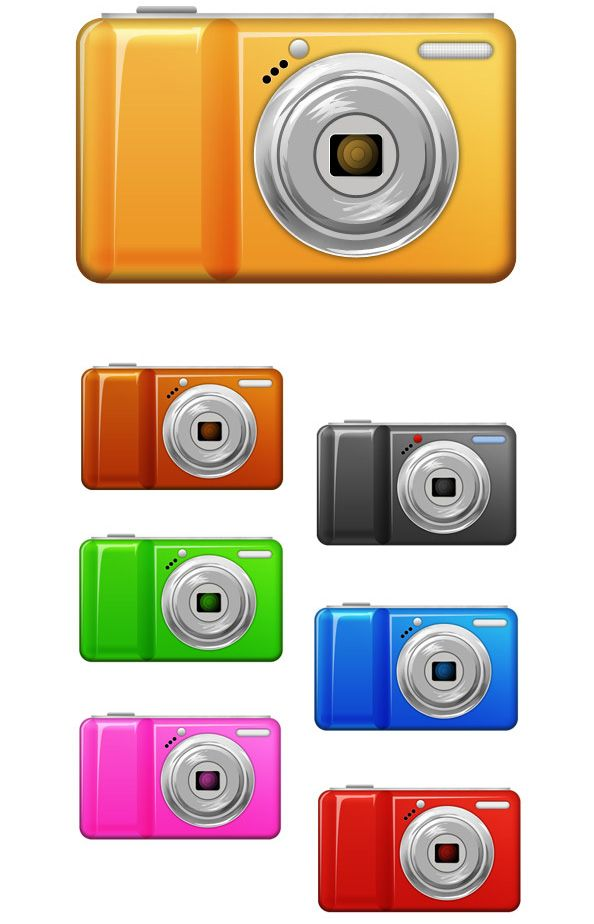 Free Camera Logo PSD
