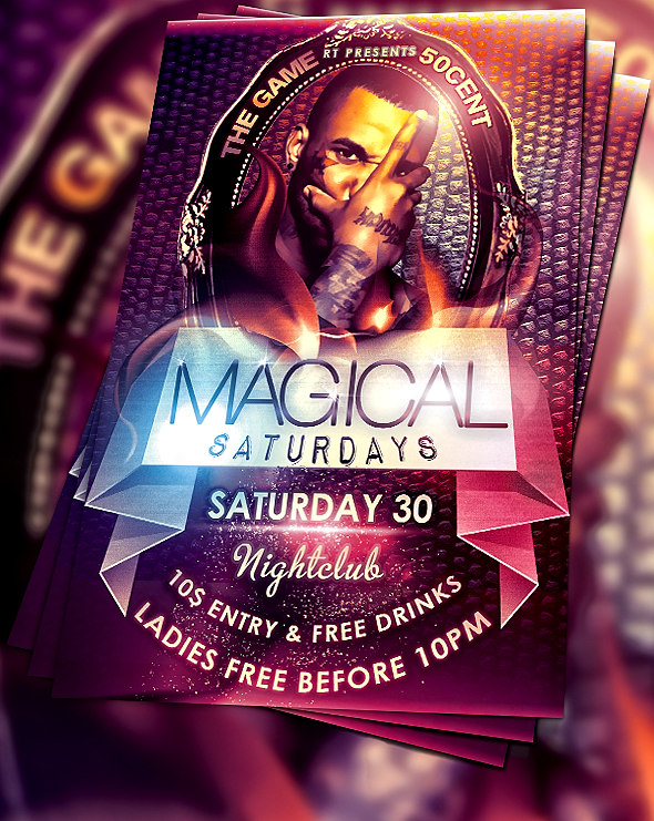 Free Flyer PSD Downloads