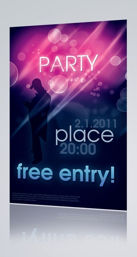 Free Party Flyer Templates Downloads