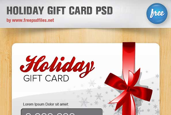 11 gift voucher template free psd images free gift certificate free photoshop christmas card templates psd yelopaper Image collections