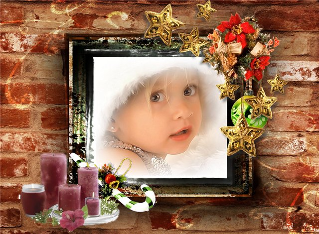 Free Photoshop Christmas Frames