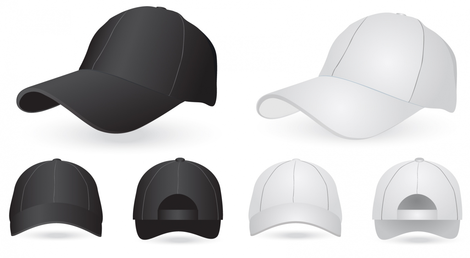 18 hat template vector images hat template