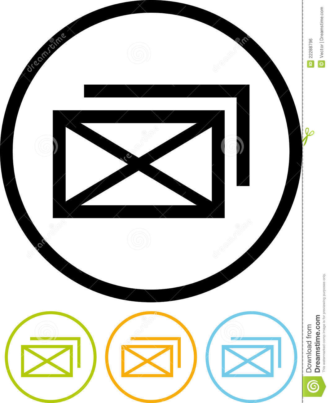 Free Vector Email Icon White