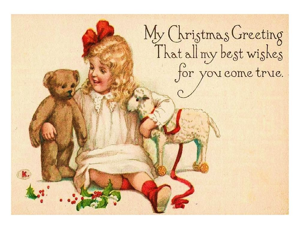 12 Free Vintage Christmas Graphics Images