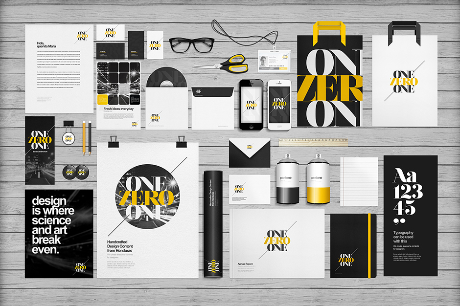12 Graphic Design Mock UPS Images