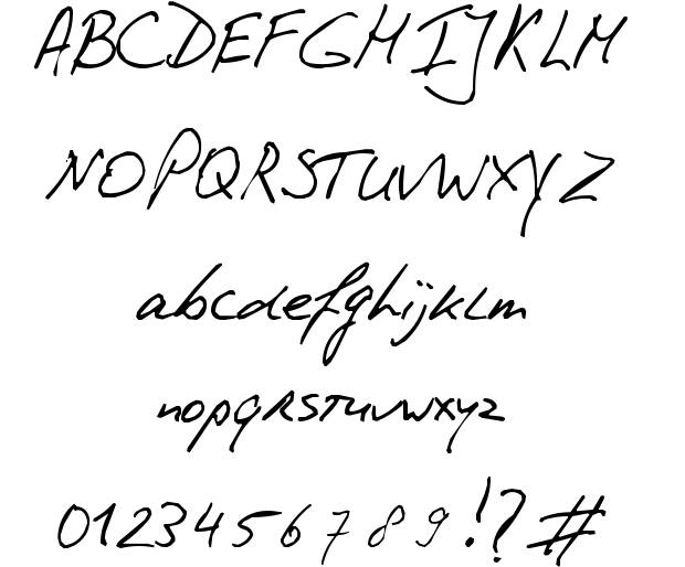 Handwriting Font Download