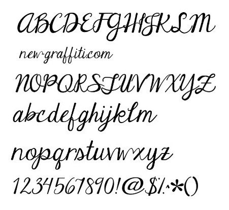 12 Dwnload Free Writing Fonts Styles Images