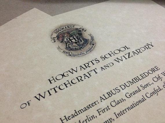 9 Hogwarts Acceptance Letter Font Images Hogwarts Acceptance