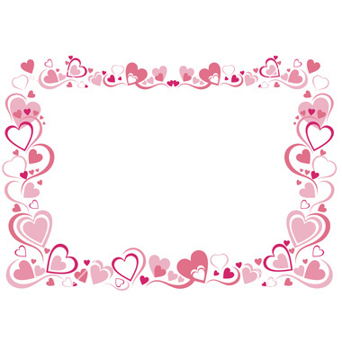 11 Heart Vector Frame Images Heart Shaped Frames