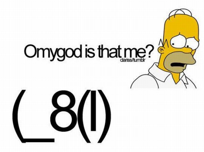Homer Simpson Face Keyboard