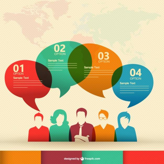 Infographic Communication Icon