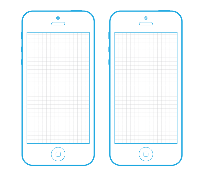IPhone 5 Screen Template