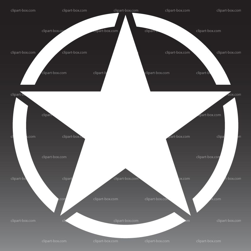 14 Military Star Vector Images