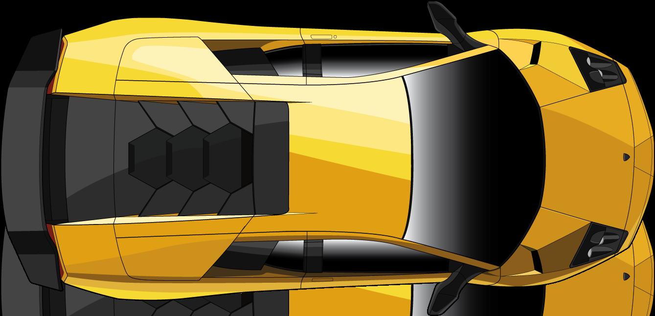 Lamborghini Murcielago Top View