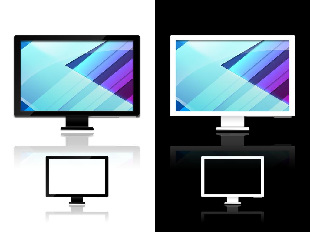 lcd tv icon - photo #7