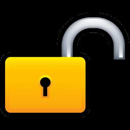 12 Unlocked Padlock Icon Images